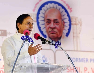 Telangana Was No Freebie From Someone, Toiled To Achieve It: Kcr-TeluguStop.com