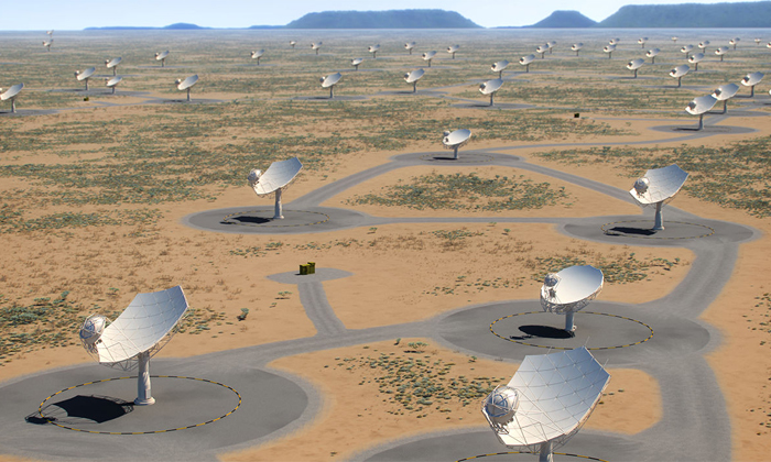 The Square Kilometer Array Observatory Is The Worlds Largest Telescope-TeluguStop.com