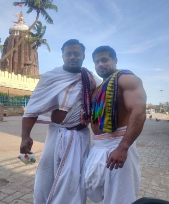 This Bahubali Sevayat Of Lord Jagannath Was Mr India-TeluguStop.com