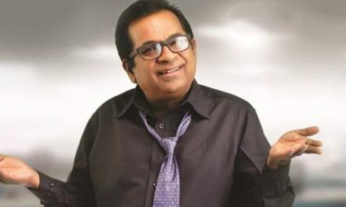 Funny Incident In Actor Brahmanandam Mimicry Show-TeluguStop.com