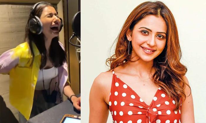 Tollywood Star Heroine Rakul Preet Singh Cried Why Because-TeluguStop.com