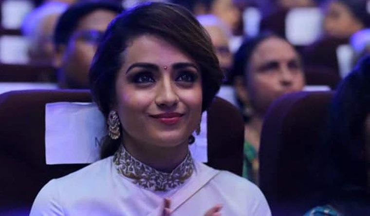 Trisha Krishnan Another Lucky Chance Power Star Movie-TeluguStop.com