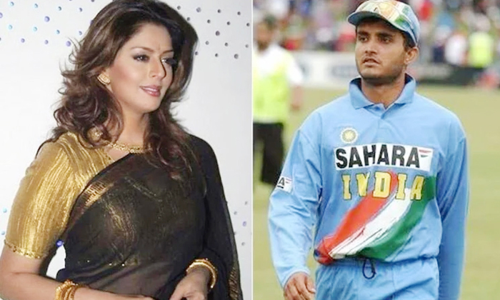 Untold Love Story Of Heroine Nagma And Sourav Ganguly-TeluguStop.com