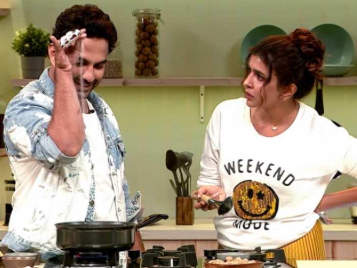 Vishwak Sen Invites Manchu Lakshmi For Dinner-TeluguStop.com