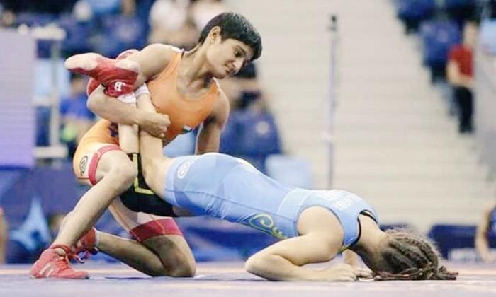 Wrestler Priya Malik Wins Gold Medal In World Cadet Wrestling Championship-TeluguStop.com