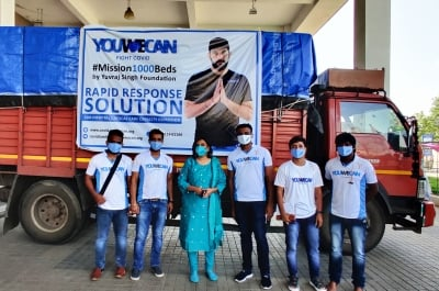 Yuvraj's Foundation Sets Up 120 Beds In Telangana Hospital-TeluguStop.com