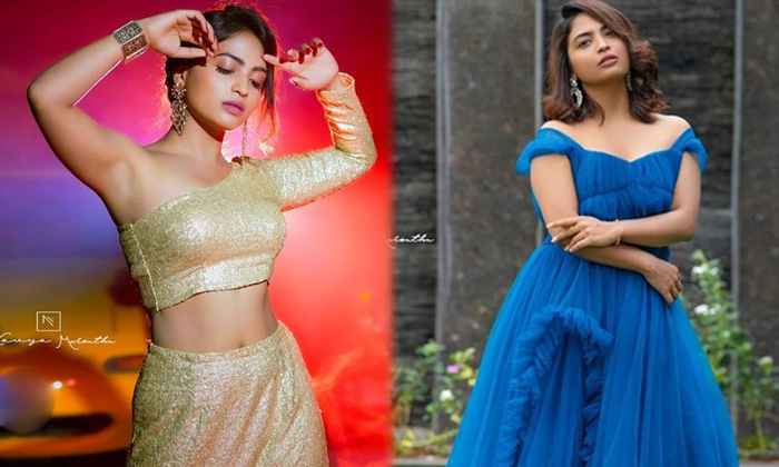 Actress Alekhya Harika Looks Classy And Elegant In This Pictures - Telugu Actress Harika Images Bigg Boss Fame Latest P High Resolution Photo