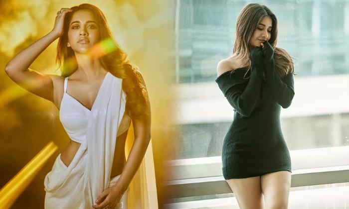 Actress Nabha Natesh Latest Beautiful Clicks-telugu Actress Hot Photos Actress Nabha Natesh Latest Beautiful Clicks - Te High Resolution Photo