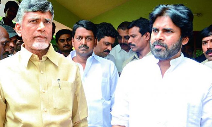 Tdp Janasena Partyes Try To Alliance-TeluguStop.com