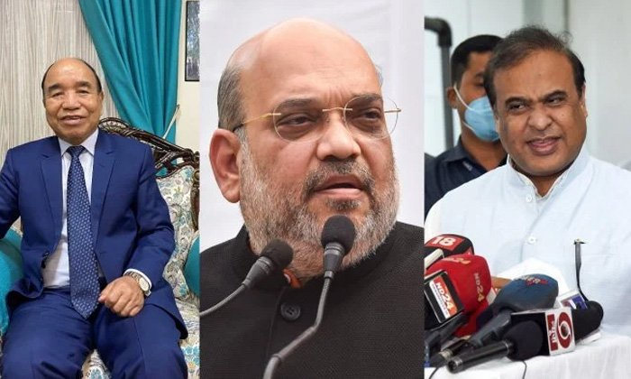 Chief Ministers Of Both The States Who Have Fallen Behind-TeluguStop.com