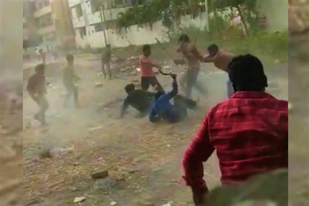 విజయవాడ లో గ్యాంగ్ వార్..!!