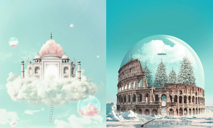 Digital Artist Creates Magical And Surreal Images From Archit-TeluguStop.com