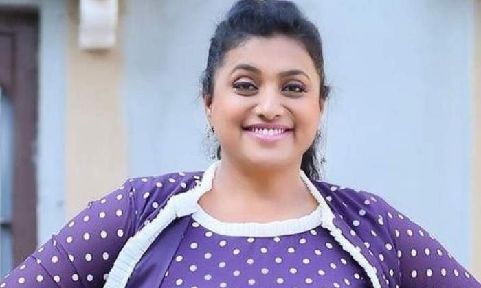 Mla Roja Kissed Jabardasth Contestant Rohini Photo Goes Viral On Instagram-TeluguStop.com