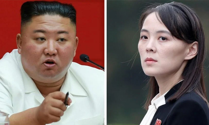 Kims Sister Gave A Warning To That Country-TeluguStop.com