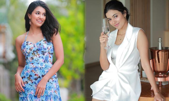 Kollywood Actress Anju Kurian Slays With This Pictures - Telugu Actress Anju Kurian Latest Stills New Glamorous Images High Resolution Photo