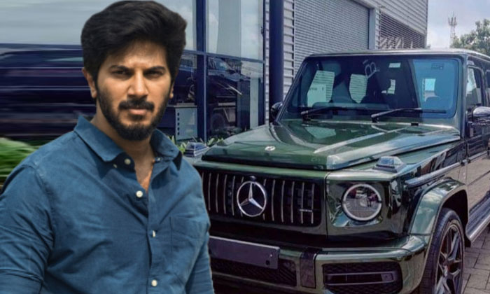Dulquer Salmaan Gifts Himself Swanky New Mercedes Amg G63 See Pics-TeluguStop.com