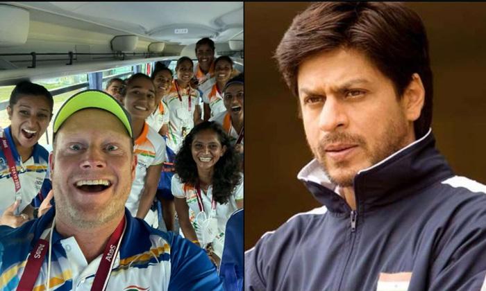 Shah Rukh Tweets Special Message Sjoerd Marijne India Womens Team-TeluguStop.com