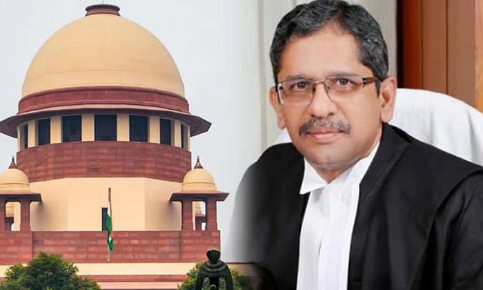 Telugu Ap And Tg Water Issue, Jagan, Kcr, Krishna Water Issue, Nv Ramana, Supreme Court-Telugu Political News