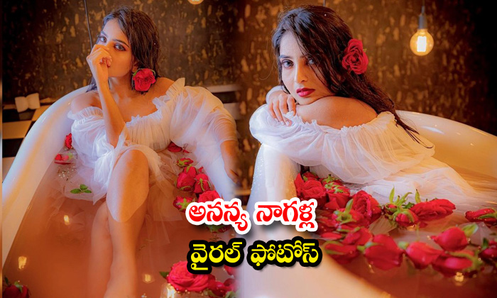 Tollywood Actress Ananya Nagalla Stunning images-అనన్య నాగళ్ల వైరల్ ఫోటోస్