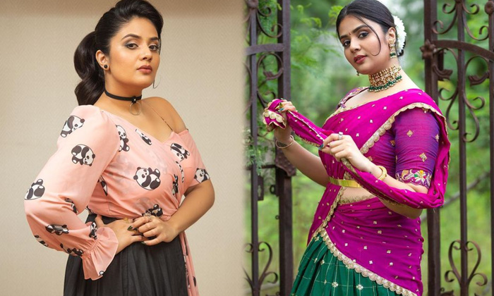 Tollywood Anchor And Actress Sreemukhi Looks Pretty In This Pictures - Telugu Actress Sreemukhi Anchor Instagram Stun High Resolution Photo