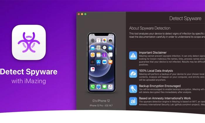With Imazing Spyware Tool We Cam Detect The Pegasus In Smartphones-TeluguStop.com