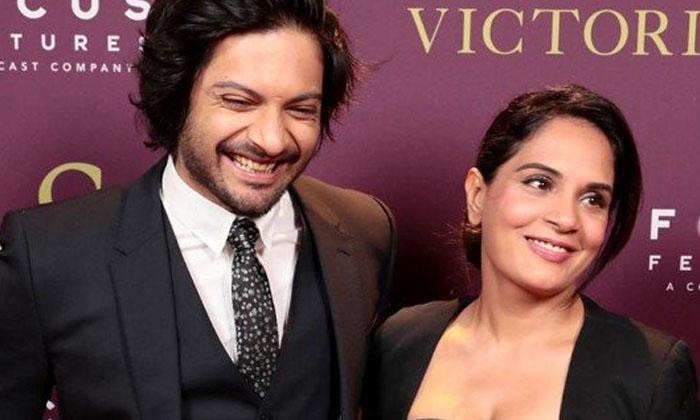 Bollywood Actor Ali Fazal Comments About Richa Chadda-TeluguStop.com