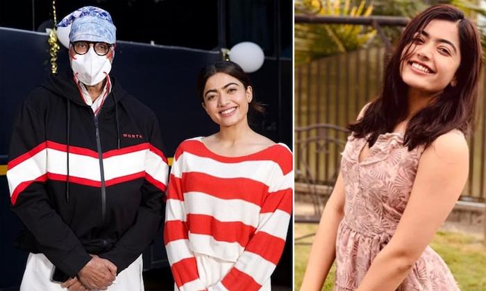 Rashmika Mandanna Shares Goodbye Movie Experience With Amitabh Bachchan-TeluguStop.com