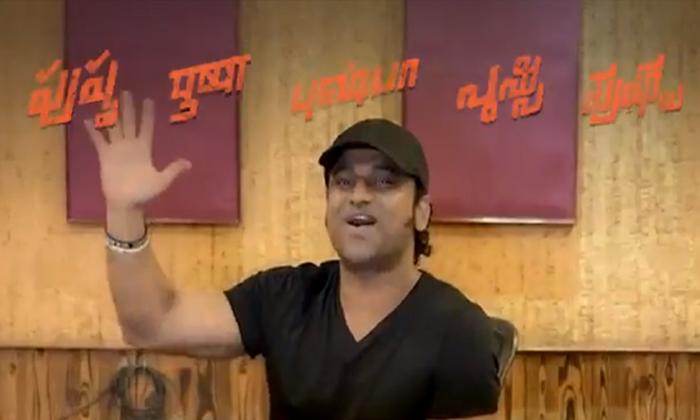 Allu Arjun Pushpa Movie First Song Dakko Dakko Meka-TeluguStop.com