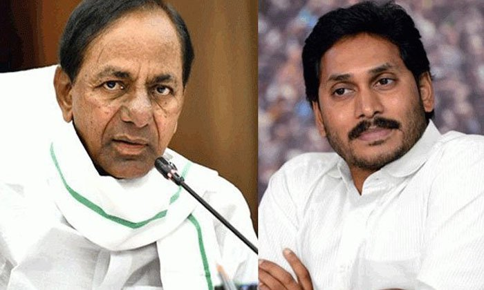 Kcr Fired For The First Time On Andhra Projects Is It A Battlefield-TeluguStop.com