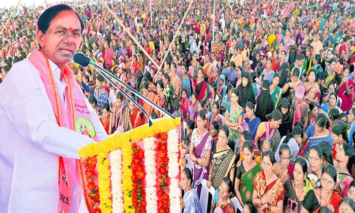 Kcr In The Idea Of A Dalit Bandhu Sabha With One Lakh People-TeluguStop.com