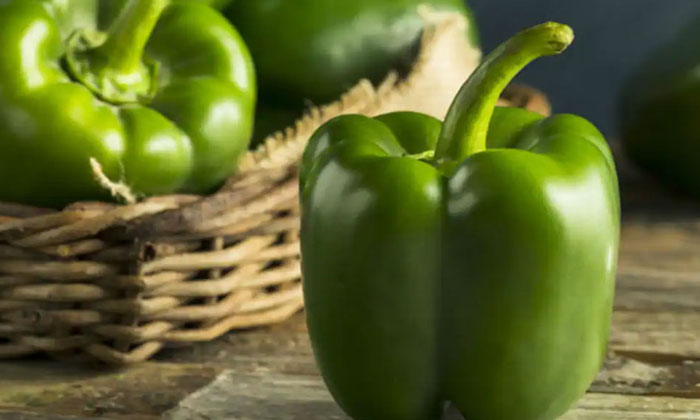 Health Benefits Of Eating Raw Capsicum-TeluguStop.com
