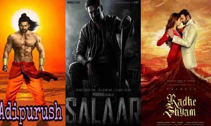 Prabhas Three Movie Release In 2022-TeluguStop.com