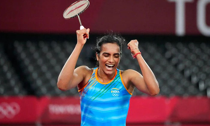 Tokyo Olympics Pv Sindhu Won Bronze Record Created-TeluguStop.com
