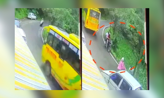 Shocking Accident In Himachal Pradesh Video Viral-TeluguStop.com