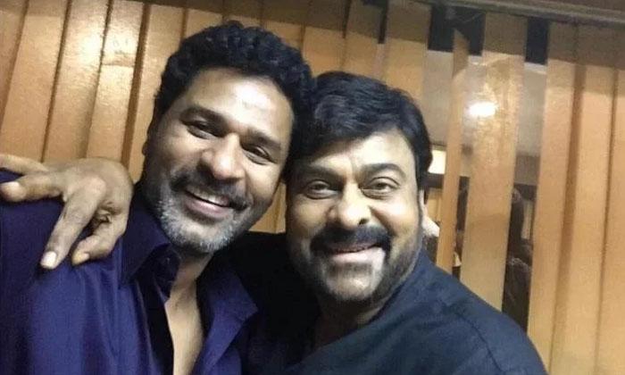 Megastar Chiranjeevi Movie Under Prabhudeva Direction-TeluguStop.com