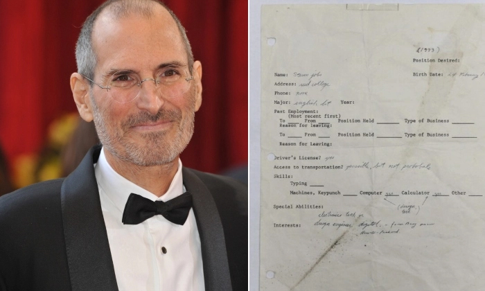 Steven Jobs Who Was Sold At Auction For A Huge Price Applied-TeluguStop.com