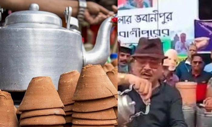 Viral Video A Cup Of Tea Price Is 15 Lakh Rupees More People Interested Why-TeluguStop.com