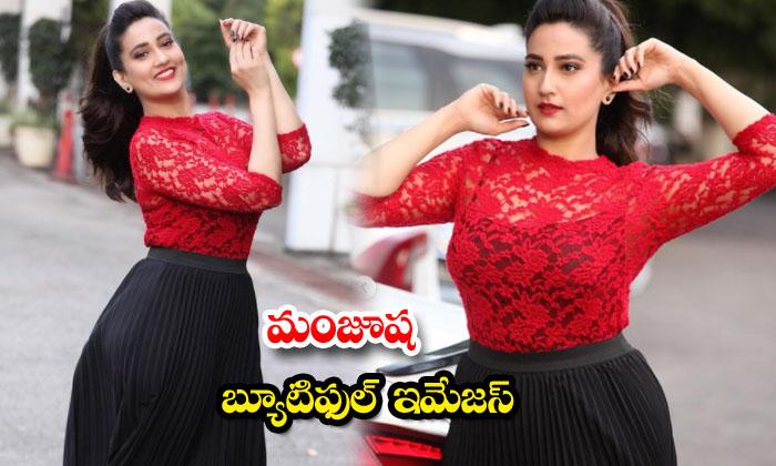 Actress Manjusha Rampalli looks simply gorgeous in this pictures-మంజూష బ్యూటిఫుల్ ఇమేజస్