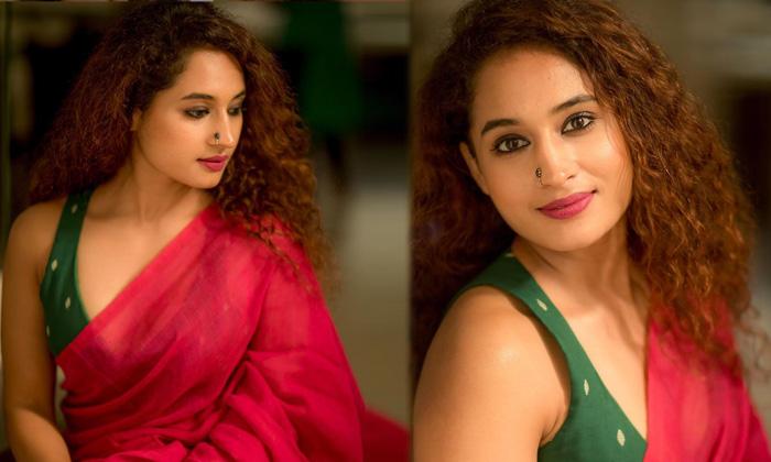 Actress Pooja Ramachandran Looks Drop Dead Gorgeous In This Saree Look - Telugu Pooja Ramachandran Latest Pics Movie Ne High Resolution Photo