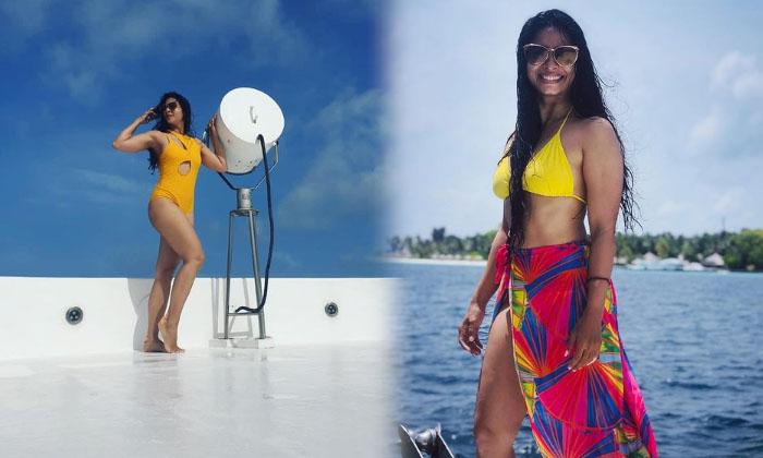 Actress Tanishaa Mukerji Stunning Images-telugu Actress Hot Photos Actress Tanishaa Mukerji Stunning Images - Telugu Ho High Resolution Photo
