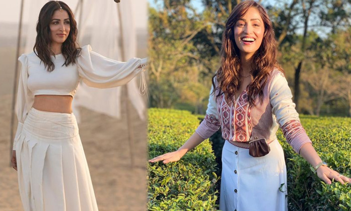 Actress Yami Gautam Dazzles In This Pictures - Telugu Actress Yami Gautam Beauty Dhar Hearts Racing With Her Romantic I High Resolution Photo