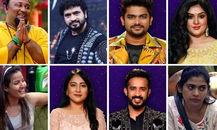 Biggboss 5 Fourth Week 8 Housemates In Nominations-TeluguStop.com