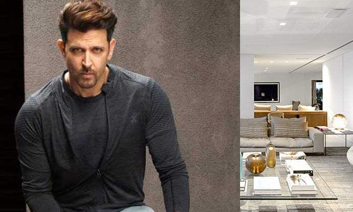 Telugu 97.5 Crore, Bollywood Actress Hritik Roshan, Hritik Roshan, Hritik Roshan Pays 8.25 Lakhs, Rented House-Latest News - Telugu