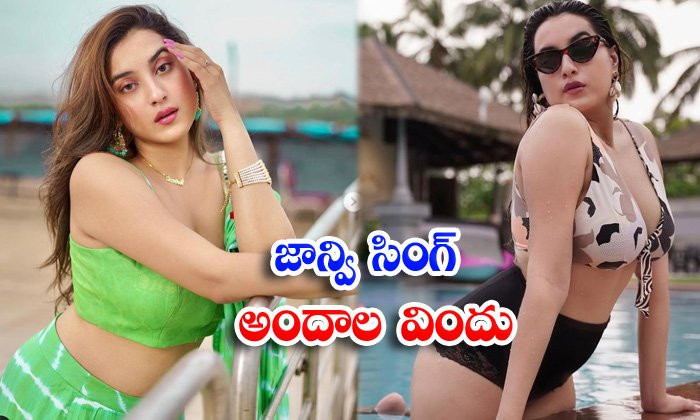 Bollywood actress Janvi Singh looks sizzling hot in this pictures-జాన్వి సింగ్ అందాల విందు