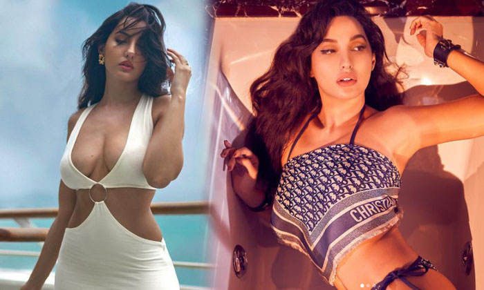 Bollywood Actress Nora Fatehi Spicy Captivating Clicks-telugu Actress Hot Photos Bollywood Actress Nora Fatehi Spicy Cap High Resolution Photo