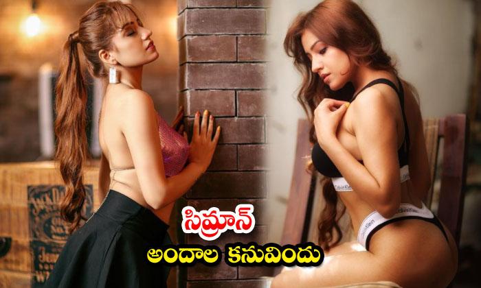 Bollywood model simran sensational stunning images-సిమ్రాన్ అందాల కనువిందు