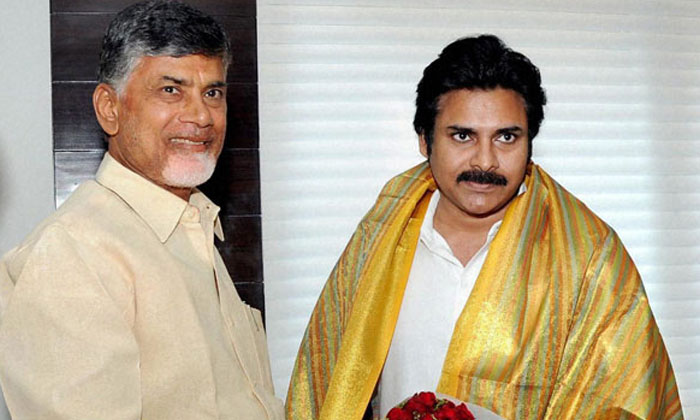 Tdp Attempts To Form An Alliance With Janasena Party-TeluguStop.com
