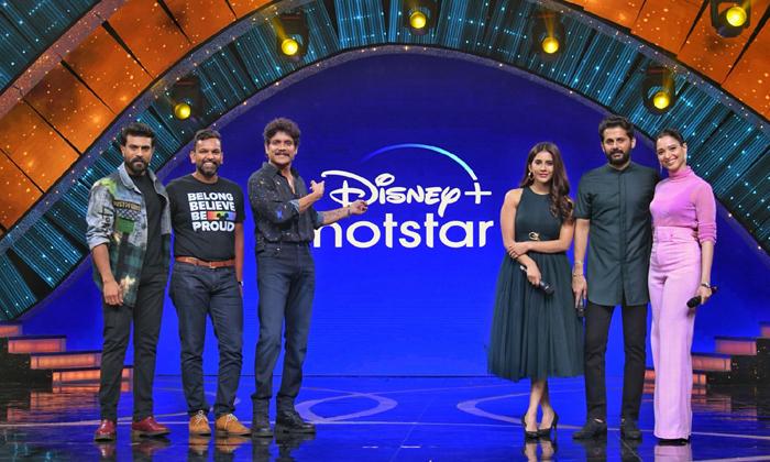 Mega Power Star Ram Charan Is The Brand Ambassador For Disney Hot Star-TeluguStop.com