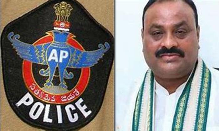 Former Minister Achennaidu Warns Police-TeluguStop.com