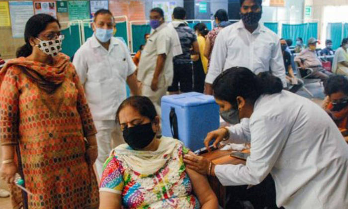 India Sets New Record In Vaccination Drive-TeluguStop.com